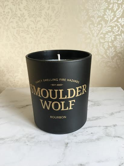 Smoulder Wolf - candle